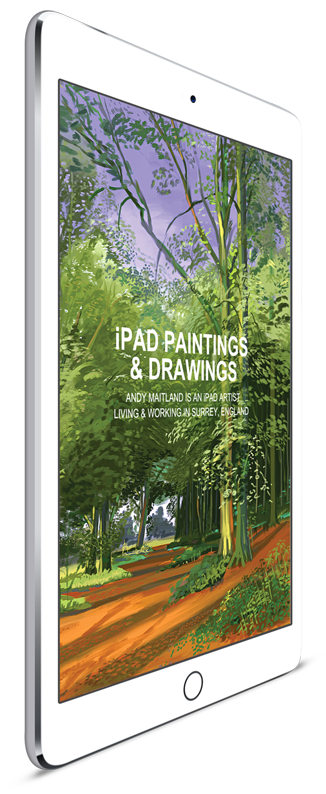 """iPad Paintings and Drawings"" ebook by iPad Artist Andy Maitland"
