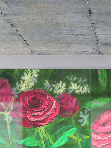 Andy Maitland, iPad artist, ipad drawing, Roses I and II.