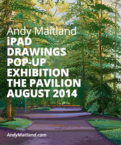 august 2015 iPad art exhibition andy maitland